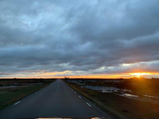 Soluppgång över världsarvet Alvaret